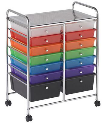 14 Drawer Mobile Organizer - Free Shipping