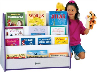 2 Sided Pick-a-Book Stand with Rainbow Accents