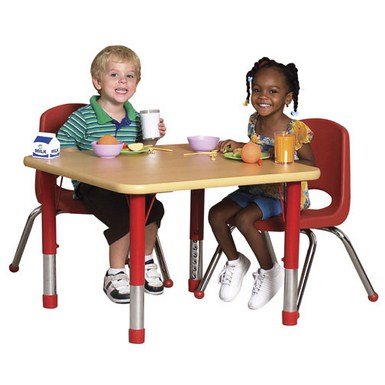 "ECR4Kids 24"" x 36"" Classroom Activity Table"