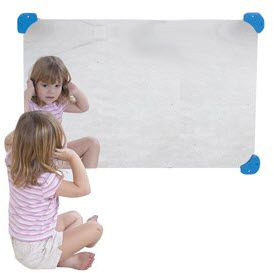 "24"" x 36"" Shatter Resistant Mirror"
