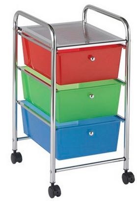 3 Drawer Mobile Organizer - Free Shipping