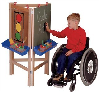 Jonti-Craft 3 Way Adjustable Child's Easel