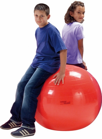 "Gymnic  34"" Red Physio Ball"