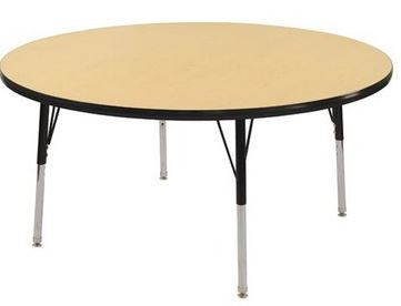"ECR4Kids 36"" Round Activity Classroom Table - Out of Stock"