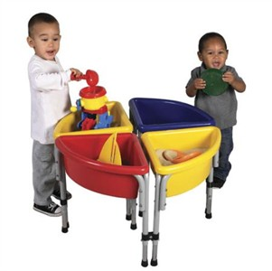 4 Station Round Sand & Water Activity Center - Out of Stock