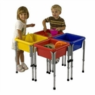4 Station Sand & Water Play Table