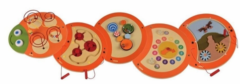 5 Piece Caterpillar Wall Toy - Out of Stock