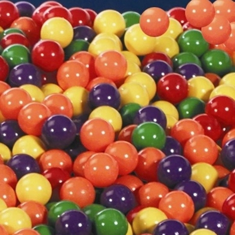 "500 Four Color 3"" Ball Pit Balls"