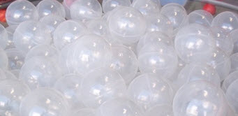 "500 Piece Translucent 3"" Ball Pit Balls"