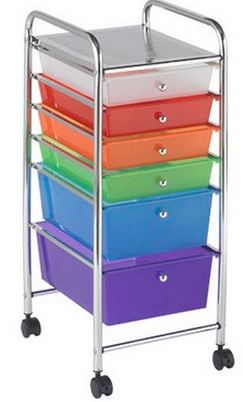 6 Drawer Mobile Organizer