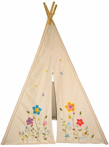 6' Flower Blossom Child's Teepee