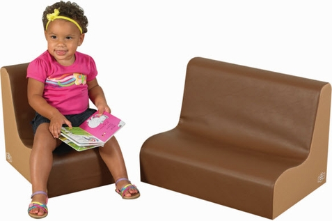 "6"" Little Tot Contour Cozy Woodland 2 Piece Soft Furniture Group"