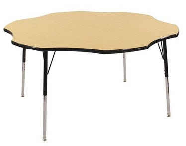 "ECR4Kids 60"" Flower Shape Activity Table"