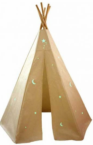 6ft Glow In the Dark Starlite Great Plains Teepee - ++