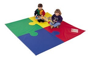 "72"" Square Toddler Puzzle Mat"