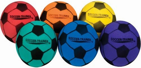 "Champion Sports Set of 6 8"" Ultra Foam Soccer Ball"