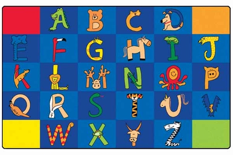 A - Z Animal Factory Second Rectangle Rug - 8'4 x 13'4