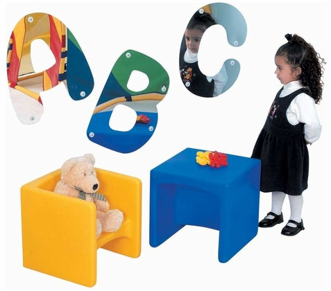 ABC Child's Wall Mirrors