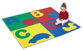 ABCD Toddler Crawley Mat