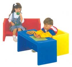 Adapta Bench - Your Choice of Four Colors