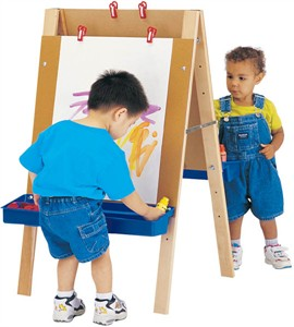Adjustable Height Easel - Toddler Edition
