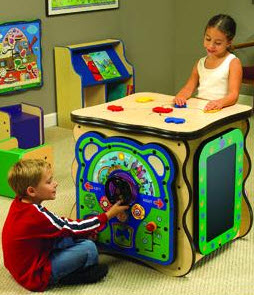Adventure Island Activity Play Cube