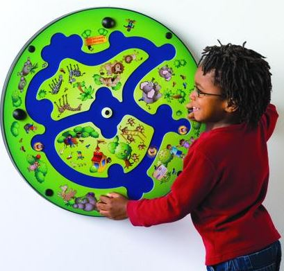 Waiting Room Adventure River Maze Wall Toy