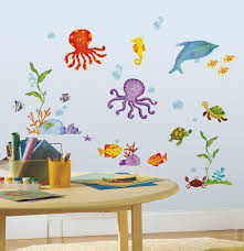 Adventures Under the Sea Wall Decals