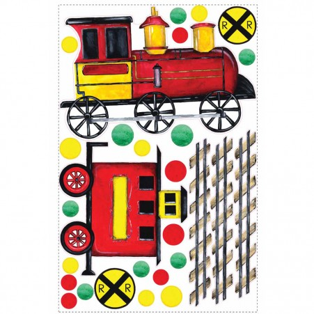All Aboard Peel & Stick MegaPack Applique - Free Shipping