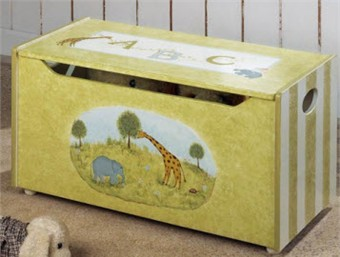 Alphabet Safari Toy Chest