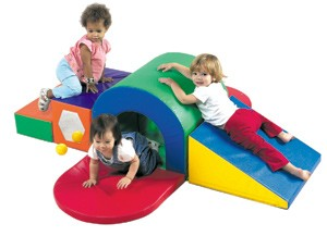 Alpine Tunnel Soft Play Slide