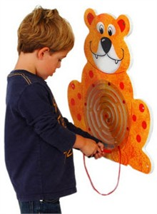 Anatex Bear Wall Panel Toy