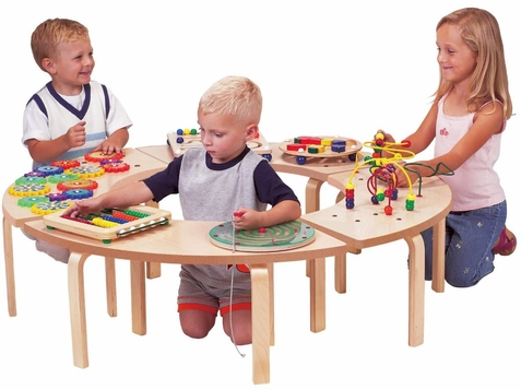 Circle of Fun Waiting Area Activity Table - Out of Stock