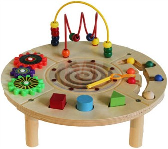 Circle Play Center Activity Toy