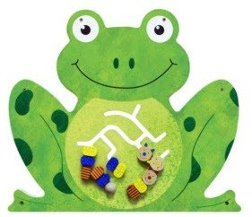 Frog Wall Panel Wait Area Toy