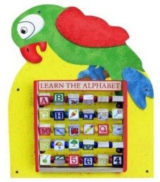 Parrot Waiting Area Wall Toy
