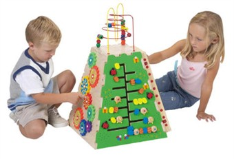 Pyramid of Play Waiting Room Toy