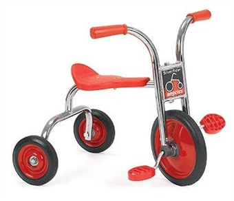 "10""Pedal Pusher SilverRider Tricycle"