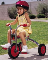 "SilverRider 10"" Trike by Angeles"