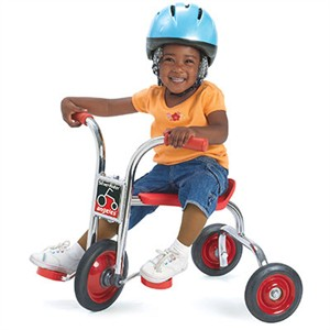 "SilverRider 8"" Pedal Pusher Tricycle"