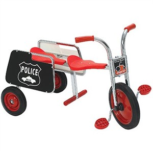 SilverRider Tandem Trike Police by Angeles