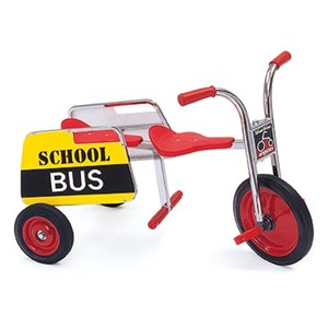 SilverRider Tandem Trike School Bus by Angeles