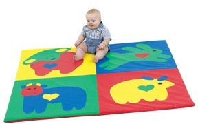 Baby Love Activity Mat - Pastel or Primary