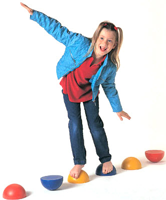 Balance Hemisphere Stepping Stones for Kids - Out of Stock