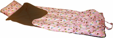 Be Bop Pink Sleeping Bag