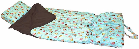 Be Bop Turquoise Sleeping Bag