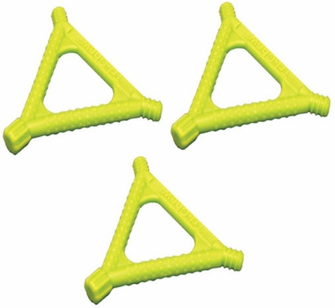 Beckman Yellow Tri Chews - Set of 3