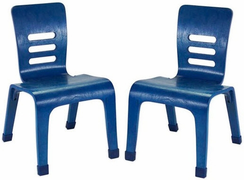 Bentwood Color School Chairs - 2 Pack