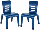 ECR4Kids Bentwood Color School Chairs - 2 Pack