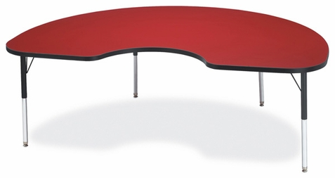 Jonti-Craft Berries Kidney Activity Table - Classic